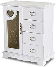 jaclyn smith white jewelry box