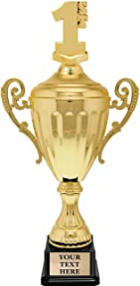 Gold Cup Trophies, 22.5