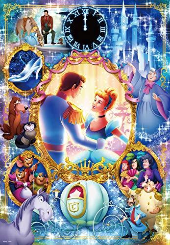 1000ピース ジグソーパズル ディズニー 夢が叶うとき(シンデレラ) (51x73.5cm)
