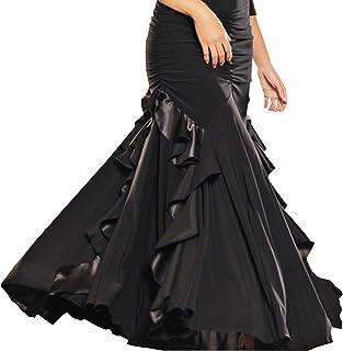 (BaQi Trade) ベリーダンス衣装 ラテンダンス衣装 モダンダンス衣装 発表会用 社交ダンスドレス衣装 スタンダードドレス ワルツ専用スカート半身スカート
