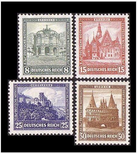 Goldhahn Deutsches Reich Nr. 459-462 postfrisch Nothilfe 1931  Briefmarken für Sammler