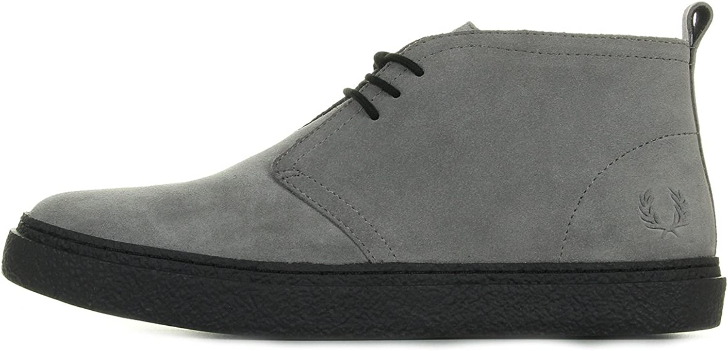 Fred Perry Hawley Mid Suede Falcon Grey B2132C53, Trainers