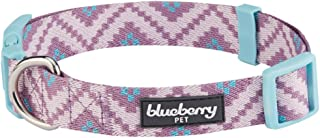 Blueberry Pet 10+ Patterns Geometric Designer Dog Collars, Harnesses or Leashes