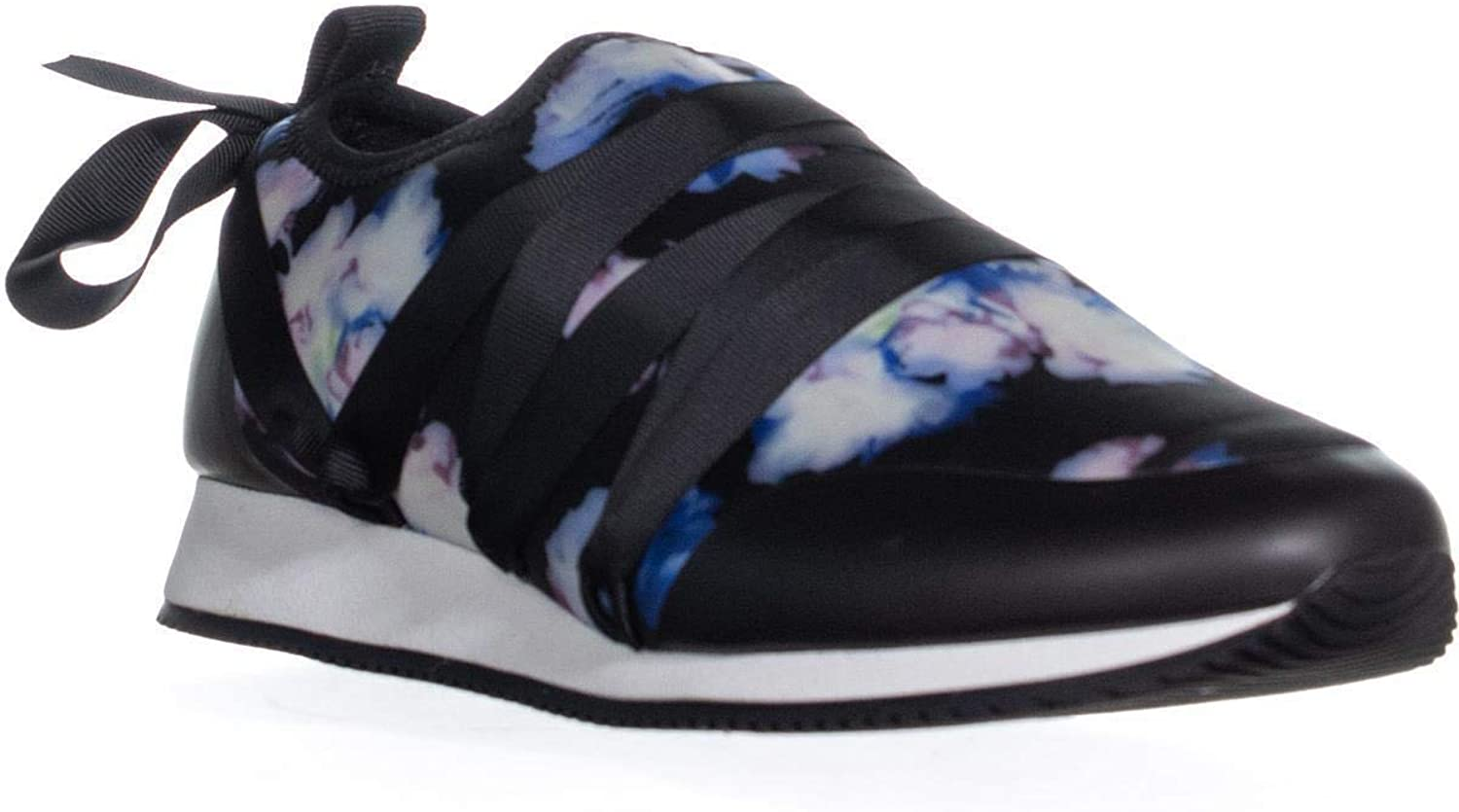 Ideology Id35 Gwhenn Lace Up Low Top Sneakers, Black Floral