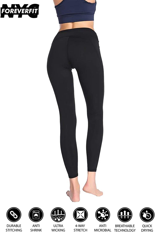 FOREgreenFIT NYC Shape up High Waist Fitness Yoga Pants Front Waist Pocket