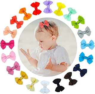 DARKLATER Baby Hair Clips,Hair Bows for Toddler Girls and Women,Cute Butterfly Hair Accessories,12PCS