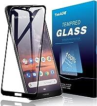 TopACE for Nokia 3V / Nokia 3.2 Screen Protector, Nokia 3.2 / Nokia 3v Tempered Glass 9H Hardness [Case Friendly][Anti-Scratch][Bubble Free] Compatible for Nokia 3v / Nokia 3.2(Black)