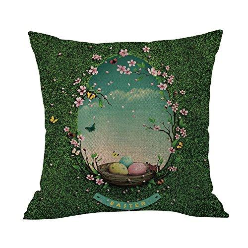 LEEDY Happy Easter Sofa Bed Decoración para el hogar Funda de Almohada Festival Funda de cojín Catálogo ¿Cuál es la Mejor Almohada para Dormir?