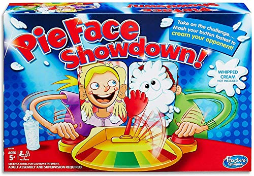 Hasbro Gaming Pie Face Showdown Game Limited Edition