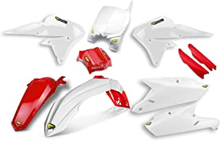 Cycra 14-18 Yamaha YZ250F Powerflow Plastic Kit (White/RED)