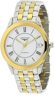 Longines Les Grandes Classic Flagship L4.774.3.21.7 Automatic Smaller Size Transparent Case Back Men's Watch