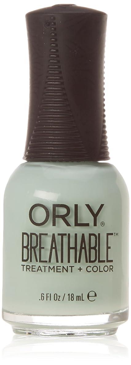 ラボ歪める落胆したOrly Breathable Treatment + Color Nail Lacquer - Fresh Start - 0.6oz/18ml