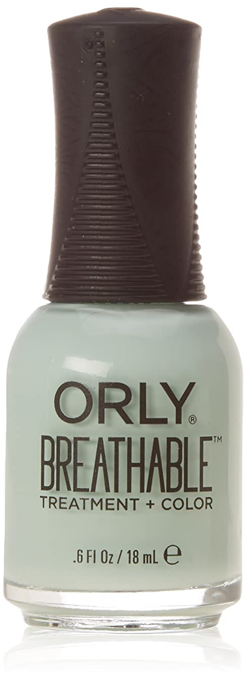 湿った足枷成功するOrly Breathable Treatment + Color Nail Lacquer - Fresh Start - 0.6oz/18ml