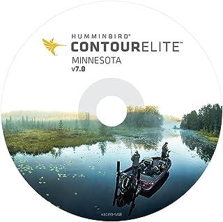 Humminbird 600022-5 Humminbird 600022-5 Contour Elite Mapping Software - Minnesota V7 (Inicio MAR 2019) Software para PC