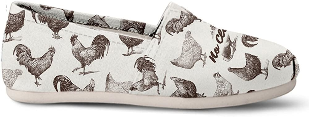 Gnarly Tees Chicken Clucks Casual Shoes