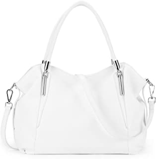 Womens Leather Vintage Shoulder Bag Ladies Handbags Tote Top-handle Purse Cross Body Bags