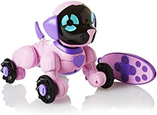 WowWee Chippies Robot Toy Dog - Chippette (Pink) (Renewed)