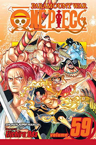 Amazon Com One Piece Vol 59 The Death Of Portgaz D Ace One Piece Graphic Novel Ebook Oda Eiichiro Oda Eiichiro Kindle Store