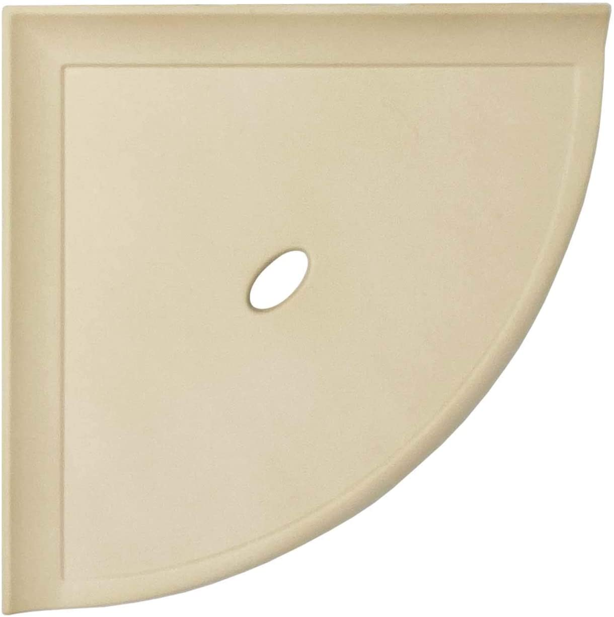 8 inch Corner Max 51% OFF Shower Shelf - Matte Mounted Latest item Wall Or Sand Bathroom