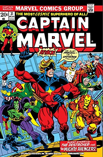 Download Captain Marvel (1968-1979) #31 (English Edition) B00ZNSMGY2