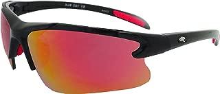 Rawlings Kids' 103 Baseball Sunglasses (Black/Red)