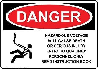 Best danger hazardous voltage label Reviews