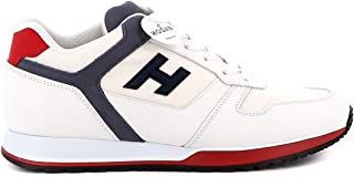 Luxury Fashion | Hogan Men HXM3210Y861N7N948G White Leather Sneakers | Spring-summer 20