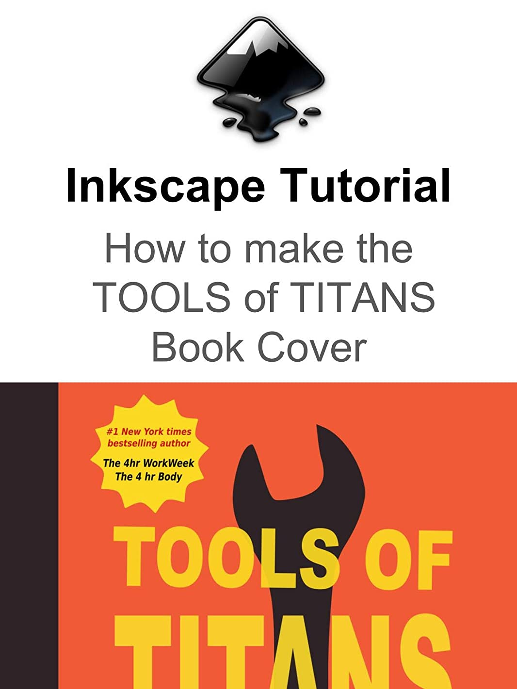 Tools of Titans Book Cover Inkscape Tutorial
