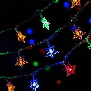 Pentagram LED String Lights Color Changing Lights, 10Ft 3M 20LEDs with USB Power Supply Decorative Lights for Bedroom Dorm...