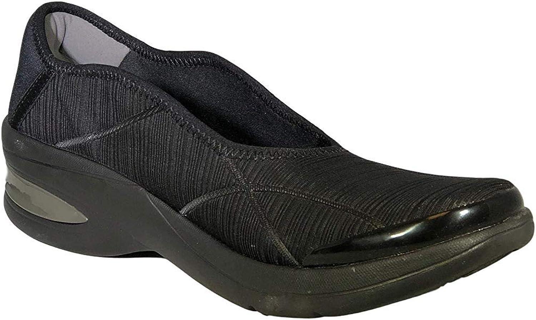 BZees Women's Royal Slip-On Sneaker, Grey,