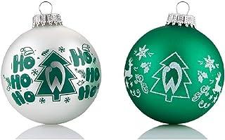 Werder Bremen Christbaumkugeln/Weihnachtskugeln 4 er Set