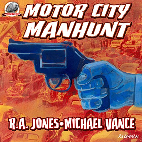 Motor City Manhunt audiobook cover art
