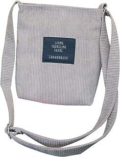 COAFIT Shoulder Bag Vintage Ultralight Reusable Crossbody Bag Satchel Bag for Women