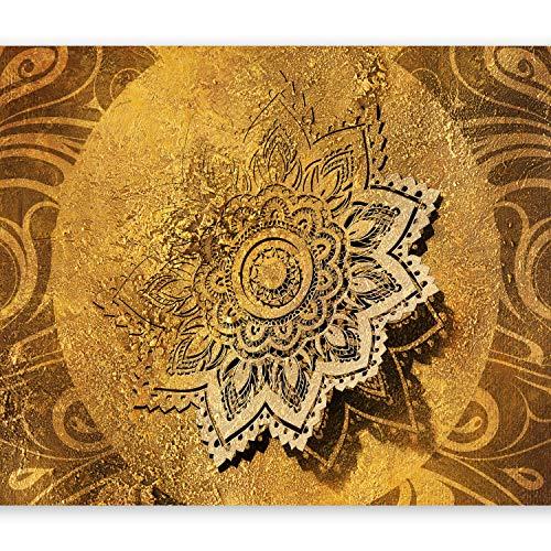 murando - Fototapete Mandala 400x280 cm Vlies Tapeten Wandtapete XXL Moderne Wanddeko Design Wand Dekoration Wohnzimmer Schlafzimmer Büro Flur Ornament Abstrakt f-A-0509-a-b