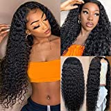 CYNOSURE Lace Front Human Hair Wigs for Black Women Pre Plucked Hairline 150% Denisty Brazilian Water Wave Lace Front...