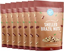Marchio Amazon - Happy Belly Noci del Brasile sgusciate, 7 x 100g