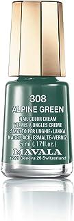 Mavala Switzerland Mini Color Nail Polish - Alpine Green, 5 ml