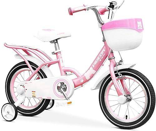 compra limitada Axdwfd Infantiles Bicicletas Bicicleta for Niños de 2 a a a 13 años, Niño y niña, 12 14 16 18 Pulgadas Bicicleta con Ruedas de Entrenamiento Freno de Montaña, Ciclismo for Niños, 85% montado  producto de calidad