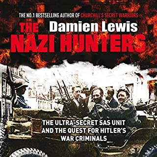 The Nazi Hunters                   By:                                                                                                                                 Damien Lewis                               Narrated by:                                                                                                                                 Leighton Pugh                      Length: 12 hrs and 10 mins     495 ratings     Overall 4.6