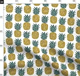 Ananas, Tropisch, Gold Glitter, Metallic, Gold, Dunkelgrün
