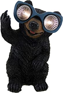 Naughty Bear Solar Eyes LED Light Statue