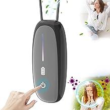 OPD A10Pro جهاز تنقية الهواء محمول، قلادة تنقية هواء صغيرة شخصية، جهاز مؤين يعمل باللمس، لا صدمات كهربائية، للسيارة والمكت...