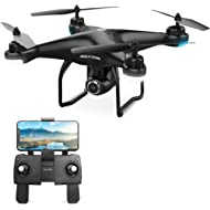 Holy Stone HS120D FPV Drone with Camera for Adults 1080p HD Live Video and GPS Return Home, RC...