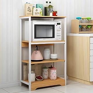 KCCCC Armoire de Cuisine Organisateur Utilitaire Rack de Cuisine Baker étagère de Rangement à 4 étages Shelf Assemblage Fa...
