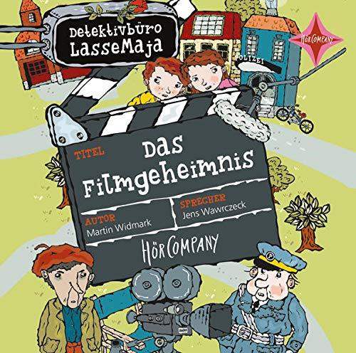 Detektivbüro LasseMaja - Das Filmgeheimnis: Vollständige Lesung, gelesen von Jens Wawrczeck, 1 CD, 56 Min
