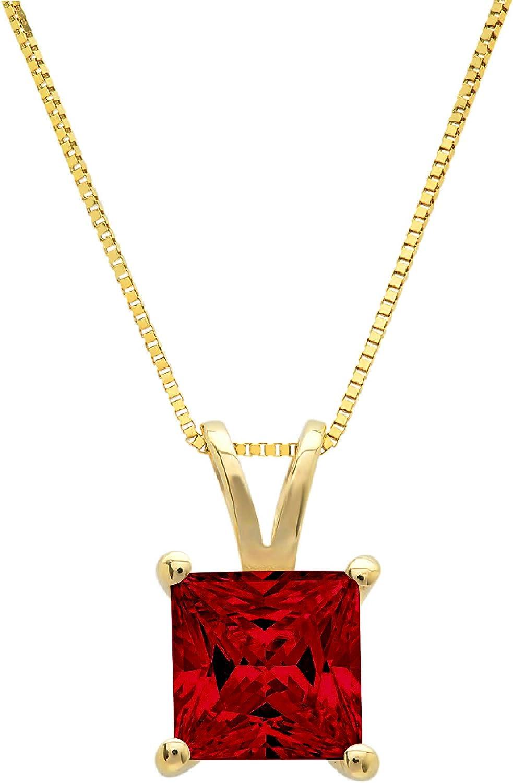 3.0 ct Brilliant Princess Cut unique Deep P Natural Fine Limited Special Price jewelry Ranking TOP6