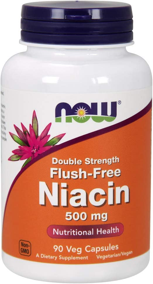 NOW Cheap super special price Supplements Niacin Popular shop is the lowest price challenge Vitamin B-3 Double 500 mg Flush-Free