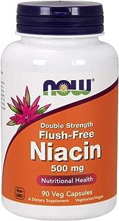 Now Supplements, Flush-Free Niacin 500 mg, 90 Veg Capsules