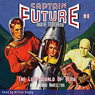 Captain Future: The Lost World of Time cover art
