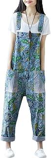 (イチイチ) itiiti デニム サロペット オーバーオール レディース ダメージ オールインワン ワイドパンツ ジーンズ 大きいサイズ おしゃれ かわいい ゆったり YY571
